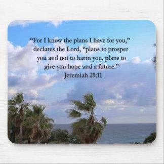 JEREMIAS-29:11 INSPIRIEREND VERS MOUSEPADS