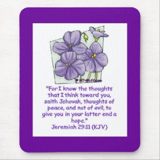 Jeremias-29:11 Mousepad