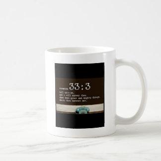 Jeremias-33:3 Kaffeetasse