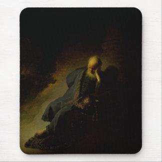 Jeremias, der die Zerstörung von Jerusalem Mauspads