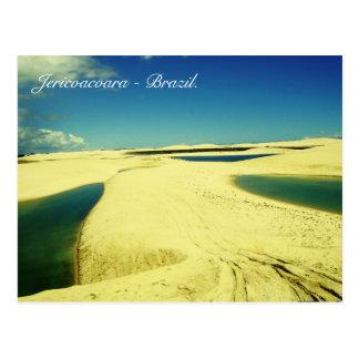 Jericoacoara - Brasilien Postkarte