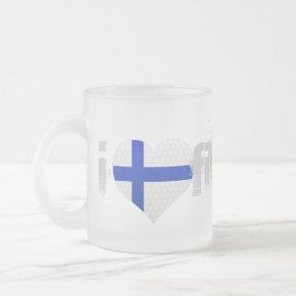 JERRILLA Design Custom Finland Mug Cup Mattglastasse
