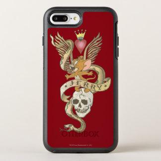 Jerry verdrehte Tätowierung 2 OtterBox Symmetry iPhone 8 Plus/7 Plus Hülle
