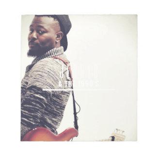 Jerryd Bass-Gitarre Notizblock