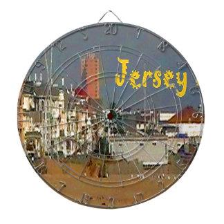 Jersey-Leben Dartscheibe
