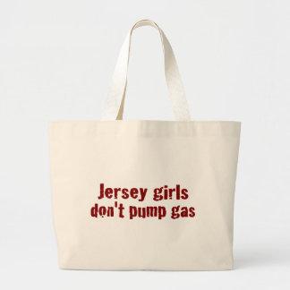 Jersey-Mädchen pumpen nicht das Gas (neu) Jumbo Stoffbeutel