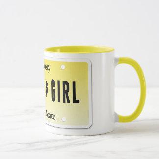 Jersey-Mädchen-Tasse Tasse