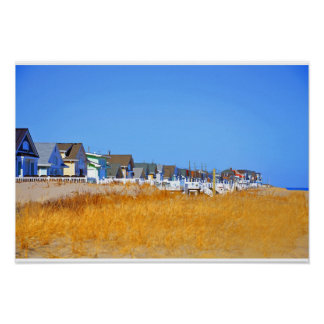 Jersey-Ufer Poster
