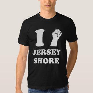 Jersey-Ufer Pumpe der Faust I Shirt