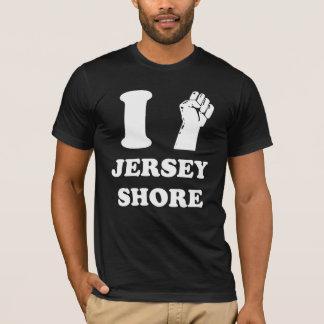 Jersey-Ufer Pumpe der Faust I T-Shirt