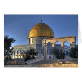 Jerusalem-Haube Karte
