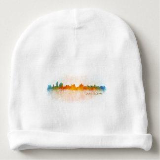 Jerusalem Israel City Skyline Babymütze