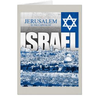 Jerusalem, Israel Karte