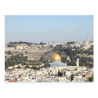 Jerusalem Israel Postkarte