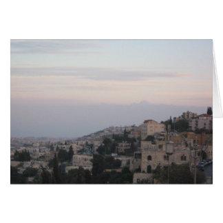 Jerusalem Karte