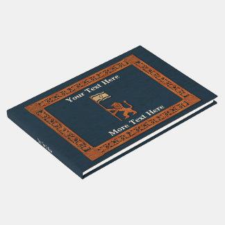 Jerusalem-Löwe mit Flagge Gästebuch