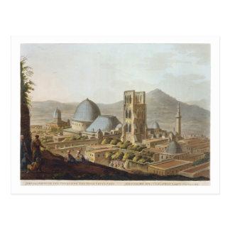 Jerusalem mit der Kirche des heiligen Sepulchre, p Postkarte