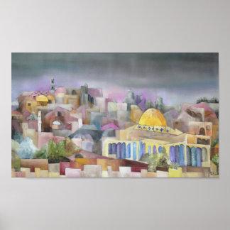 Jerusalem Plakatdrucke