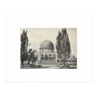 Jerusalem Ugglan Postkarte