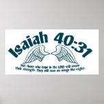 Jesaja-40:31 Posterdruck