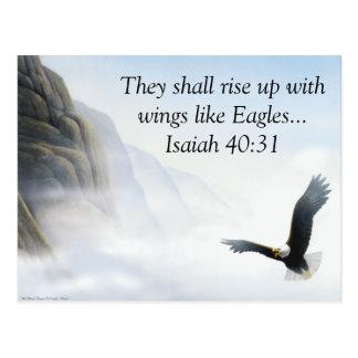 Jesaja-40:31 Postkarte