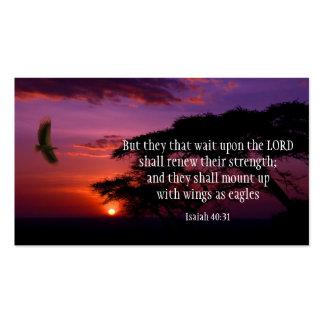 Jesaja-40 31 Schrift KARTEN