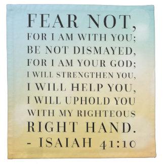 Jesaja-41:10 Bibel-Zitat Stoffserviette