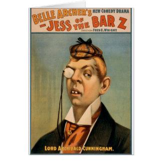 Jess des Bar Z - Lord Archibald Cunningham Karte