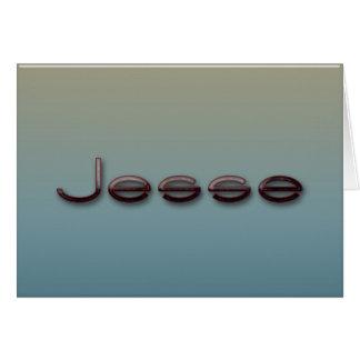 Jesse Karte