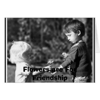 Jesse und Cristabel, Blumen sind für Franc… Karte