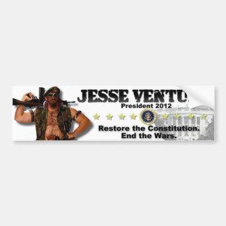 Jesse Ventura 2012 - Stellen Sie die Konstitution Autoaufkleber