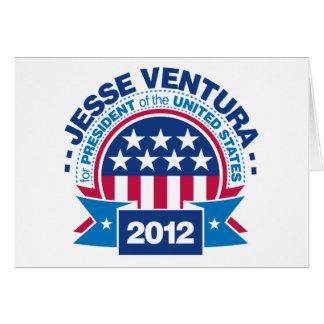 Jesse Ventura für Präsidenten 2012 Karte