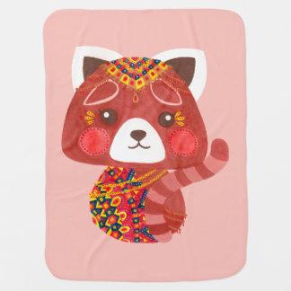 Jessica, der niedliche rote Panda Puckdecke
