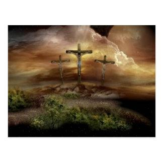 JESUS AUF DEM KREUZ POSTKARTE