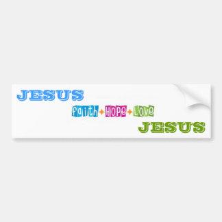JESUS AUTOAUFKLEBER