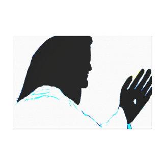 JESUS BERÜHRTE MICH Leinwand