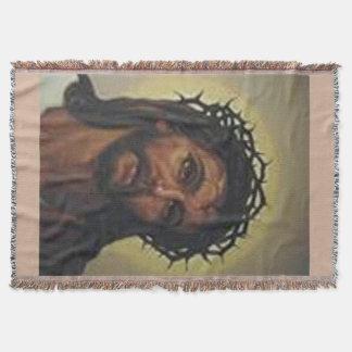 JESUS-BILDchristliche THROW-DECKE Decke