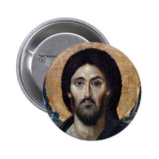 Jesus Runder Button 5,1 Cm