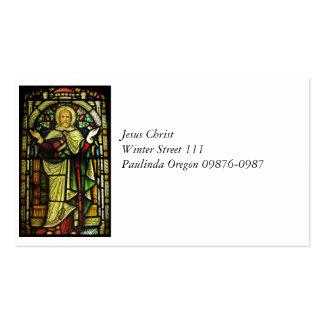Jesus Christus-Arme ausgestreckt Visitenkarten