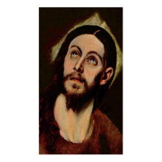 Jesus Christus circa 1580-1585 Visitenkarten
