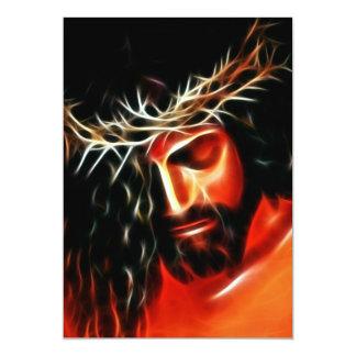 Jesus Christus, der für Sie schreit Karte