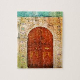 Jesus Christus-Ikonen-Tür-griechisches orthodoxes Puzzle