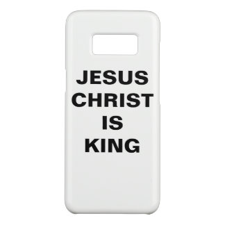 """""""Jesus Christus ist Kasten König-"""" Samsung Case-Mate Samsung Galaxy S8 Hülle"""