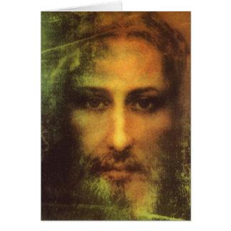 Jesus Christus-Karte Grußkarte