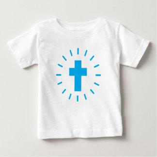 Jesus Christus-Kreuz Baby T-shirt