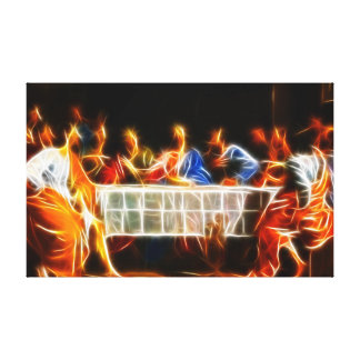 Jesus Christus-letztes Abendessen Leinwanddruck