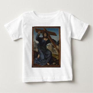Jesus Christus mit Kreuz Baby T-shirt