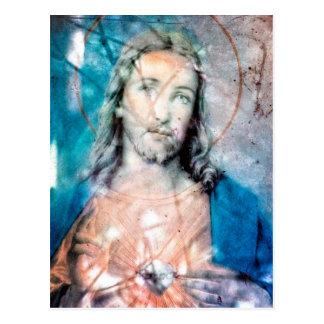 Jesus Christus Postkarte