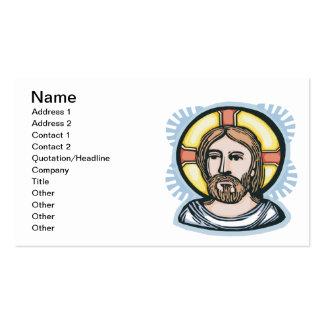 Jesus Christus Visitenkarten