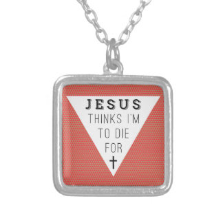 """""""Jesus-Dank, den ich zu bin, die für """" Halskette"""